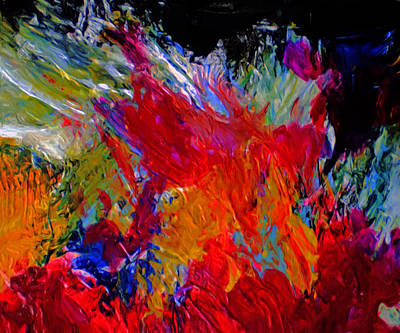 Durst Painting - Love by Michael Durst