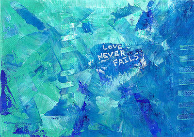 Painting - Love Never Fails by Kume Bryant