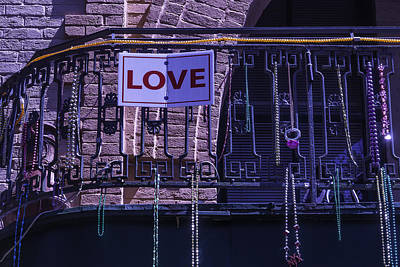 Photograph - Love New Orleans by Garry Gay
