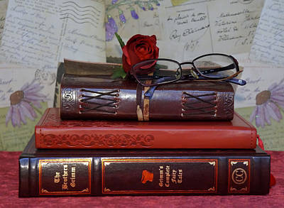 Photograph - Love Of Books by Pamela Walton