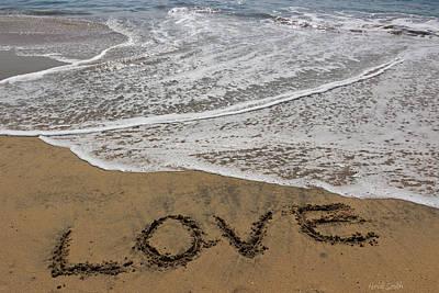 Photograph - Love On The Beach by Heidi Smith