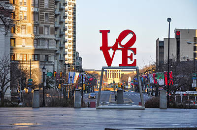 Love On The Parkway Art Print