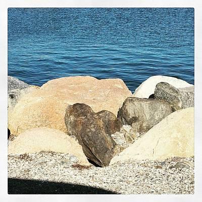 Photograph - Love On The Rocks by Jennifer Karon