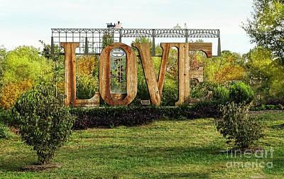 Digital Art - Love - Original- Farmville Virginia  by Melissa Messick