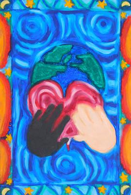 Love Our Earth Original by Elizabeth Dawson