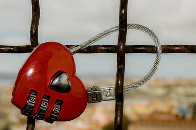 Photograph - Love Padlock I by Alexandre Martins