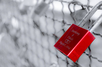 Photograph - Love Padlock II by Alexandre Martins