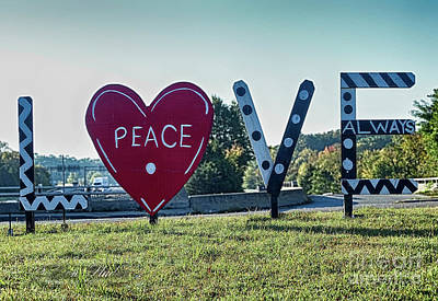 Photograph - Love - Petersburg, Virginia by Melissa Messick
