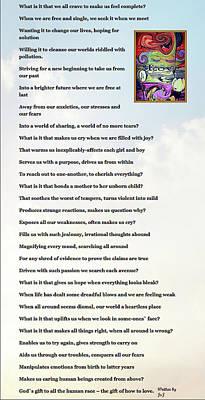 Digital Art - Love Poem by Jan Steadman-Jackson