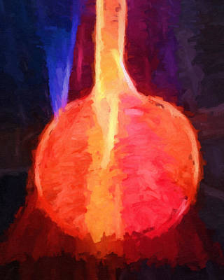 Abstract Impressionism Painting - Love Potion by Lutz Baar