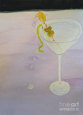Love Potion Valen-tini In Moderation Art Print by ARTography by Pamela Smale Williams