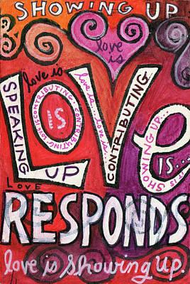 Painting - Love Responds by Jennifer Mazzucco