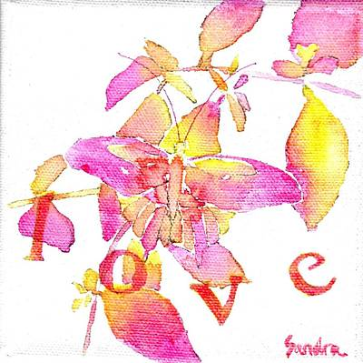 Painting - Love by Sandra Neumann Wilderman