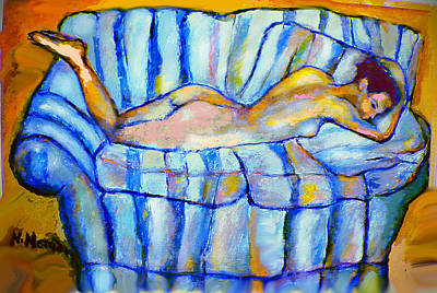 Love Seat Art Print by Noredin Morgan