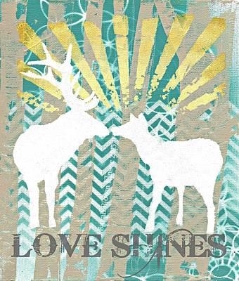 Love Shines Art Print by Sarah  Bloom Kinser