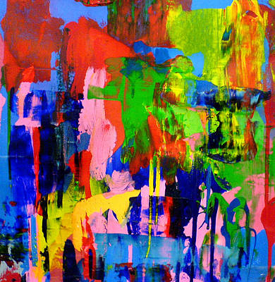 Vivid Colour Painting - Love Spreads by Jennifer Wilson