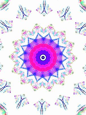 Love Star Art Print by Ritchard Mifsud