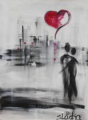 Love Story 3 Art Print