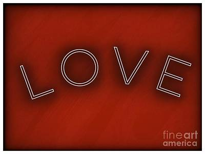 Photograph - Love  by Susan Garren