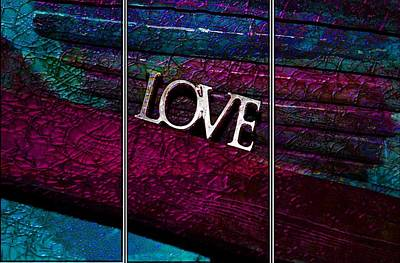Photograph - Love Textures by Dorothy Berry-Lound