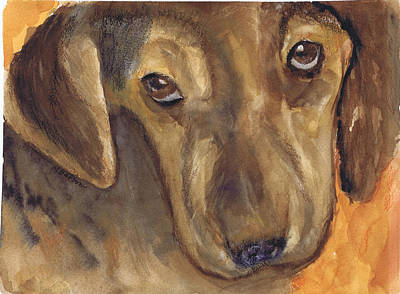 Painting - Love That Dog by Marilyn Barton