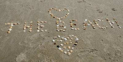 Photograph - Love The Beach by Mary Ward