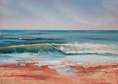 Painting - Love The Surf by Trina Teele