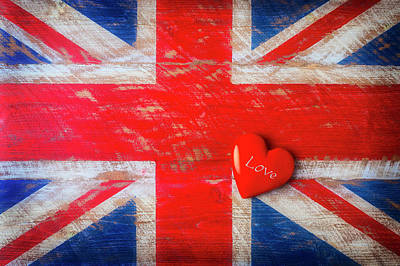 Photograph - Love The Uk by Garry Gay