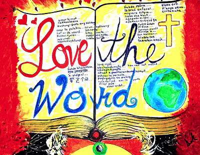 Love The Word  Original by Vanessa Sisk