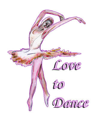 Painting - Love To Dance by Tom Conway