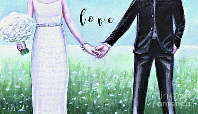 Painting - Love Together by Elizabeth Robinette Tyndall