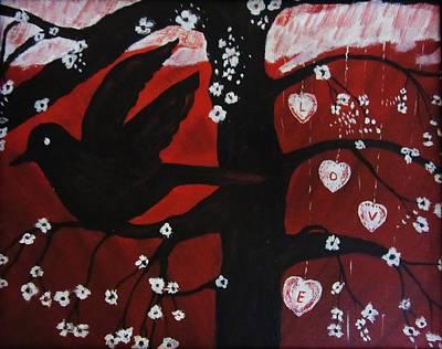 Painting - Love by Vesna Martinjak