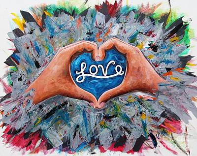 Painting - Love by Vikki Angel