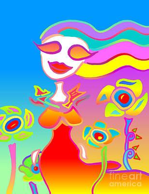 Love Will Blossom Art Print