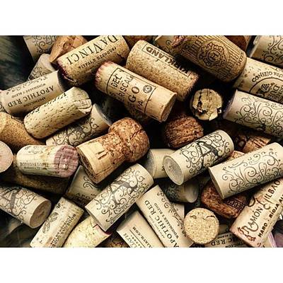 Food And Beverage Photograph - Love Wine! #wine #juansilvaphotos #cork by Juan Silva