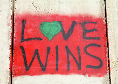 Photograph - Love Wins by Munir Alawi