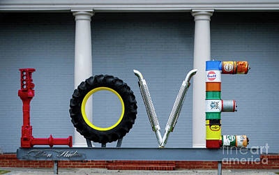 Photograph - Love With A Little Blue - Colonial Heights, Virginia by Melissa Messick