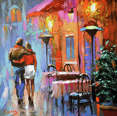 Painting - Love You by Dmitry Spiros