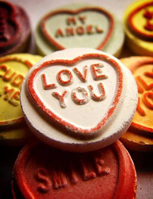 Love You Print by Mark Rogan
