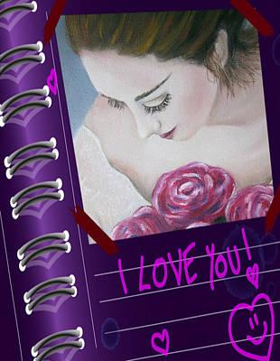 Painting - Love You by Vesna Martinjak