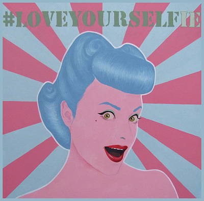 Love Your Selfie Art Print