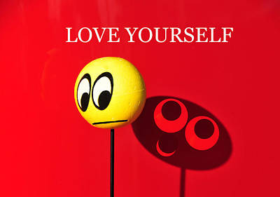 Photograph - Love Yourself by David Lee Thompson