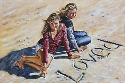 Loved Art Print by Ilse Kleyn