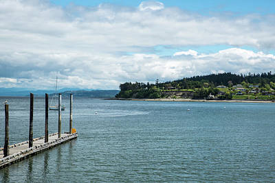 Photograph - Lovejoy Point And Coupeville Dock by Tom Cochran