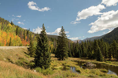 Photograph - Loveland Pass In The Fall by John Daly