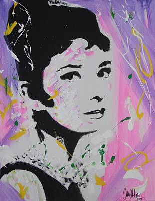 Lovely Audrey Art Print