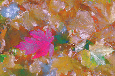 Digital Art - Lovely Autumn  Fantasy  by Lena  Owens OLena Art