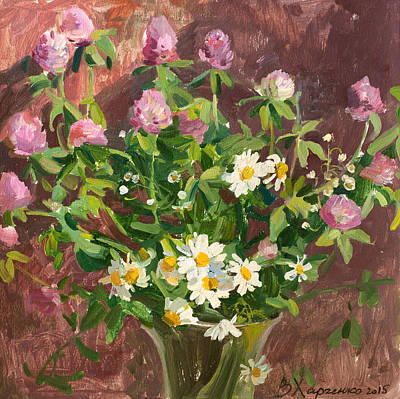 Victoria Painting - Lovely Bouquet by Victoria Kharchenko