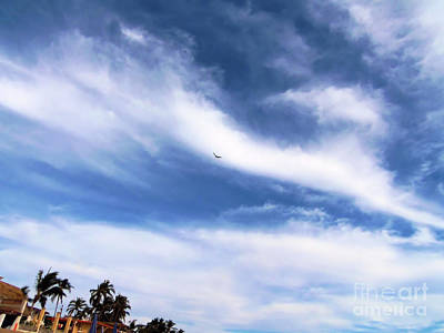 Photograph - Lovely Clouds by Victor K