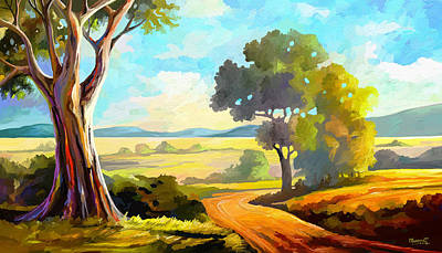 Painting - Lovely Day by Anthony Mwangi